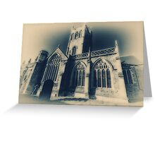 St Johns The Baptist, Axbridge, Somerset Greeting Card