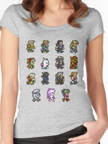 FINAL FANTASY VI Women's Fitted Scoop T-Shirt