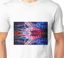 Abstract Shout Out UFA Lightpainting Unisex T-Shirt