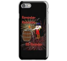 Remember, Remember 5th November, Guy Fawkes Night iPhone Case/Skin