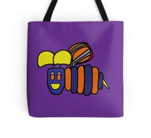 Cheerful Buzzing Bee Tote Bag