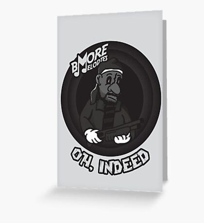 BMore Melodies Greeting Card
