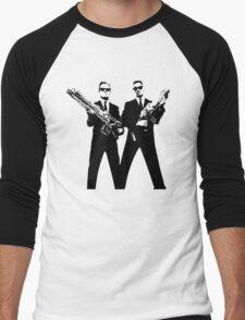 Men in Black Men's Baseball ¾ T-Shirt