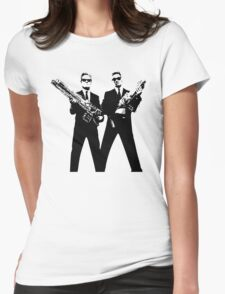 Men in Black Womens Fitted T-Shirt