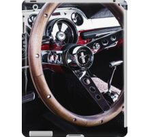 Ford Mustung Details #7 iPad Case/Skin