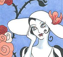 Art Deco Vampire by Allise Noble