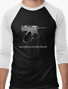 Men in Black mini Gun Men's Baseball ¾ T-Shirt