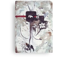 The just wrath of the prophet Canvas Print