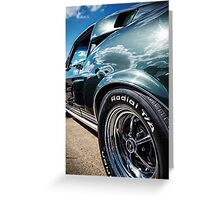 Ford Mustung Details #3 Greeting Card