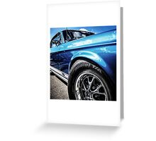 Ford Mustung Details #2 Greeting Card