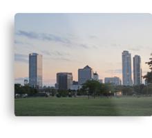 Daylight Milwaukee Skyline Metal Print