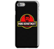 PAWNEE PARKS iPhone Case/Skin