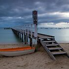 The Baths Jetty Sorrento Front Beach by Matt Bishop