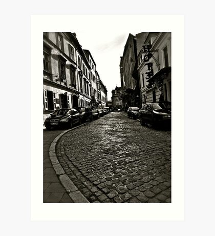 Poselska street, Kraków, Poland . by Doktor Faustus . Favorites: 1 Views: 82 . Thx! Art Print