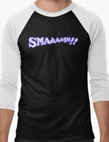SMAAAASH!! Men's Baseball ¾ T-Shirt