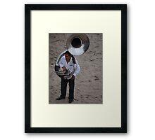 Tuba  Framed Print
