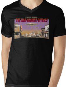 The War Against Giygas Mens V-Neck T-Shirt
