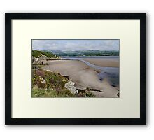 Coast at Portmeirion Framed Print