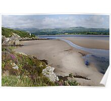 Coast at Portmeirion Poster