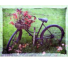 Grungcycle Photographic Print