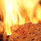 Flamed Hamburgers! by Guatemwc