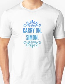Carry On, Simon. Unisex T-Shirt