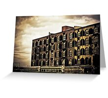Time Tells Its Own Tales - Red Hook - Brooklyn Greeting Card