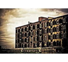 Time Tells Its Own Tales - Red Hook - Brooklyn Photographic Print