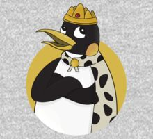 Cute emperor penguin cartoon One Piece - Long Sleeve