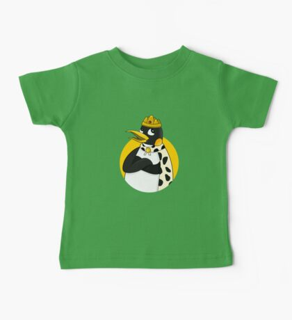 Cute emperor penguin cartoon Baby Tee