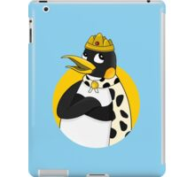Cute emperor penguin cartoon iPad Case/Skin