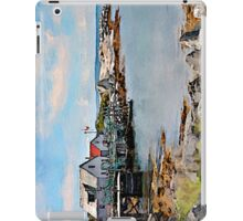 Indian Harbour watercolour iPad Case/Skin