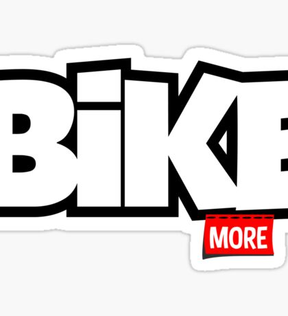 Bike More Sticker