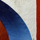 Terracotta, White and Blue by Simon Hickie