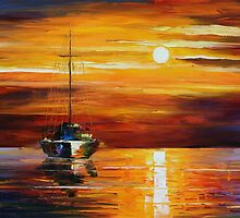 SEA SHADOWS - LEONID AFREMOV by Leonid  Afremov