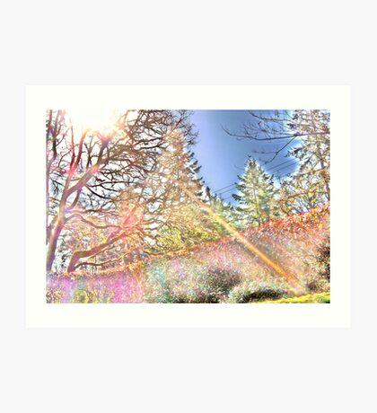 spectral analyst Art Print