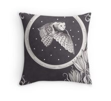 Eyes Flying High Throw Pillow
