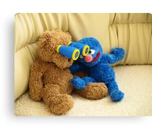 Grover and Stefan Canvas Print