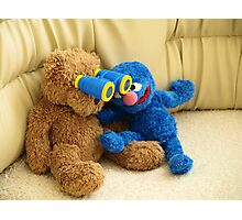 Grover and Stefan Photographic Print
