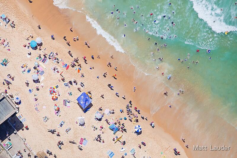Bar Beach, Newcastle by Matt  Lauder