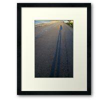 Shadow of My Former Self Framed Print