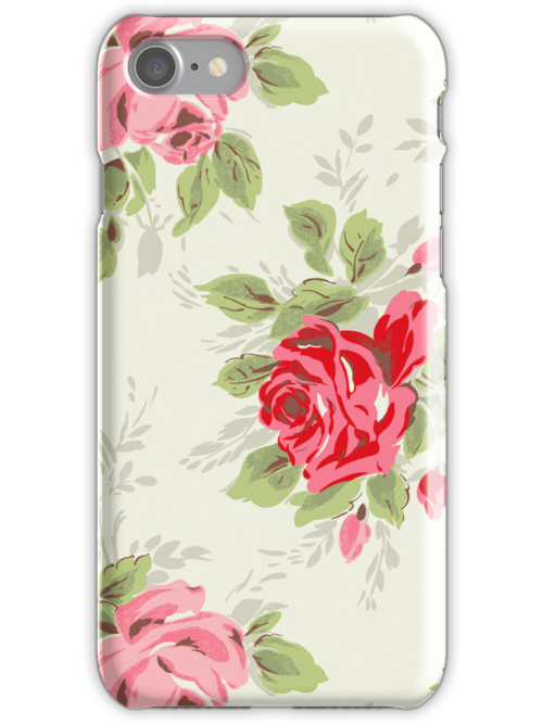 Cath Kidston Style iPhone Cover by DecayAllDay