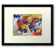 The Bull Fighter  Framed Print