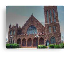 Asbury United Methodist Church HDR Canvas Print