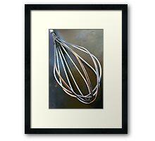 Wire Wisk Framed Print