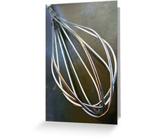 Wire Wisk Greeting Card