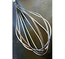 Wire Wisk Photographic Print