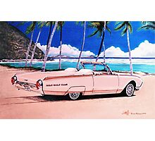 1962 Ford Thunderbird Convertible Roadster Photographic Print