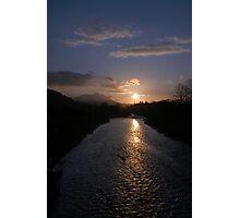 River Tweed Sunrise (Peebles) Photographic Print