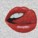 Strawberry Tongue by DecayAllDay